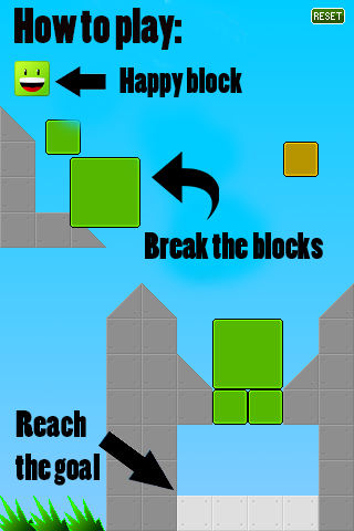 Crazy block: captura de pantalla