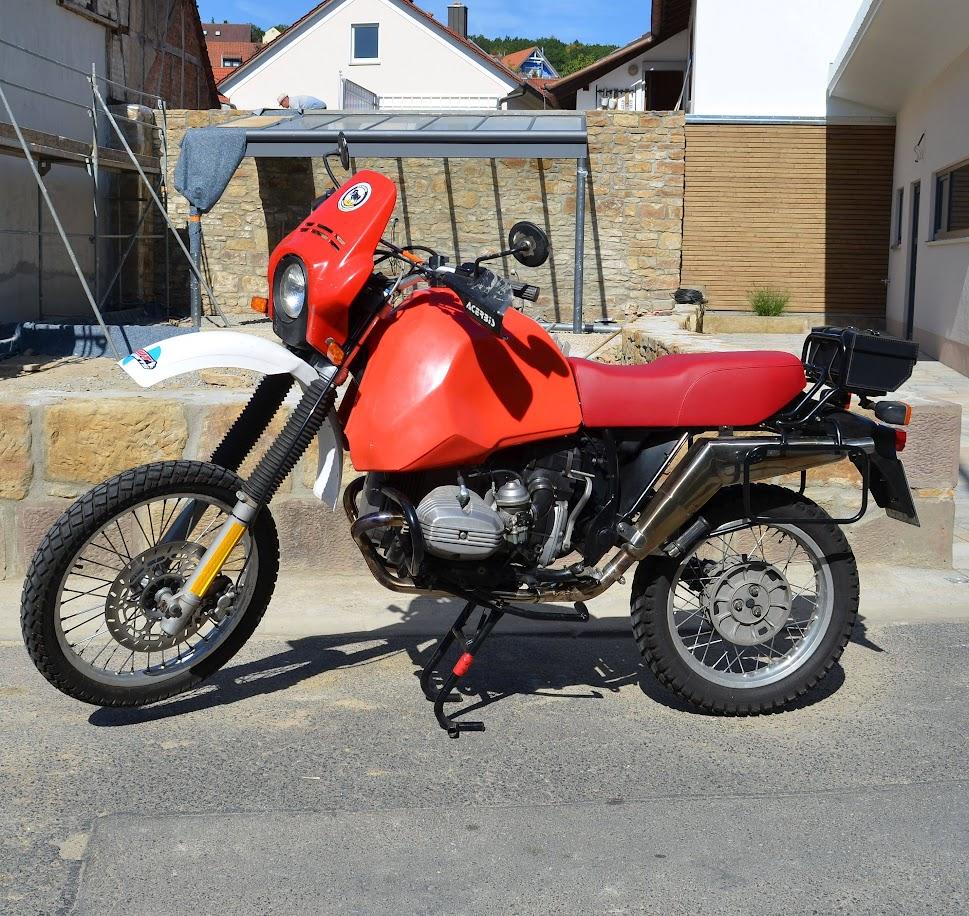 Mit der BMW Motorrad G/S R 80 durch Afrika. Zwei Freunde auf Reisen.