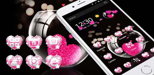 Pink Love Heart Theme Apps On Google Play