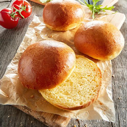 Abbildung Brioche-Burger-Brötchen