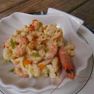 Macaroni Shrimp Salad.