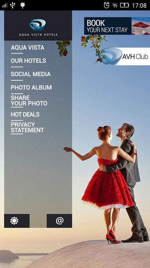 Aqua Vista Hotels- screenshot