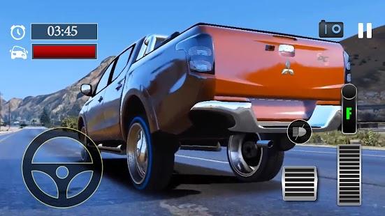 Car Parking Mitsubishi L200 Triton Simulator - náhled