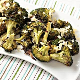 Italian Roasted Broccoli.