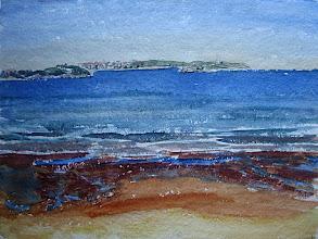 Photo: Playa Loredo, 31 x 41 cm s/papel Aquari 300 g, 20-9-06, 290