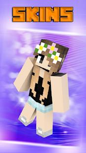 Skins girls for Minecraft PE - náhled