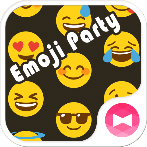 Emoji Party +HOME Theme Icon
