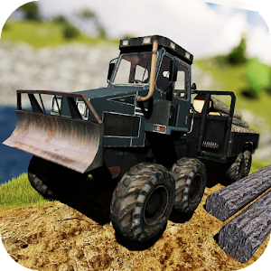 Lumberjack Timber Truck for PC and MAC