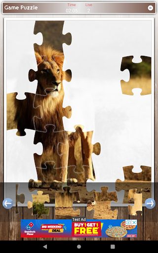 Lion Game Jigsaw Puzzle  screenshots 9