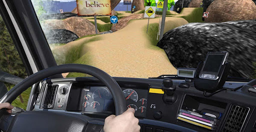 Cargo Truck Drive Hill Turbo