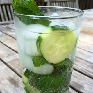 Cucumber Mint Vodka Refresher