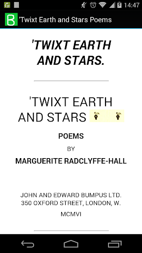 'Twixt Earth and Stars