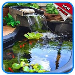 Garden fish pond - náhled