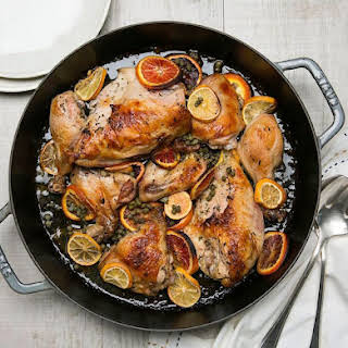 Chicken with Herbs, Citrus & Capers.