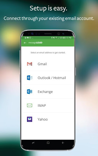 messageLOUD: Texts/Sms, Email, WhatsApp read aloud Screenshot