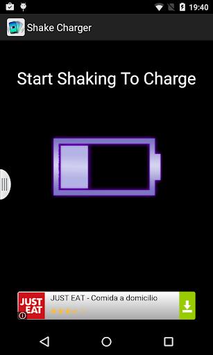 Agita y carga la bateria PRANK