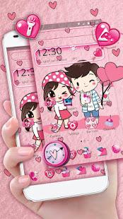 Cute Cartoon Love Launcher Theme for PC-Windows 7,8,10 and Mac apk screenshot 2