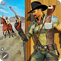Wild West Bounty Hunter Horse Rider Shooting Games icon