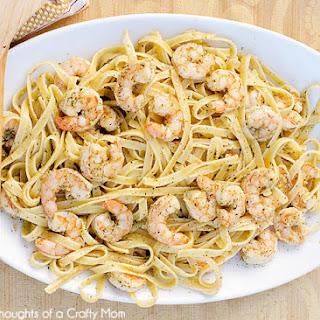 Easy Shrimp Scampi.