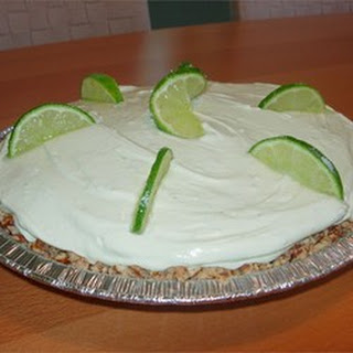 Cool Lime Pie.