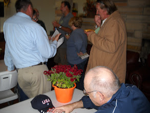 Photo: Roaming Shores attendees network with other lake communities.