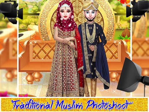 Kashmiri-Indian Hijab Girl Wedding & Dressup Salon App