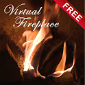 Virtual Fireplace LWP Free icon