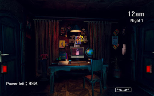 Five Nights at Haunted House: Survival Horror Game  άμαξα προς μίσθωση screenshots 2