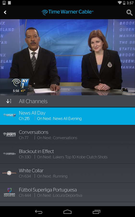 TWC TV®- screenshot