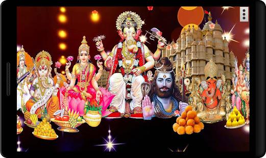 4d Ganesha Devotees Live Wallpaper Apps On Google Play