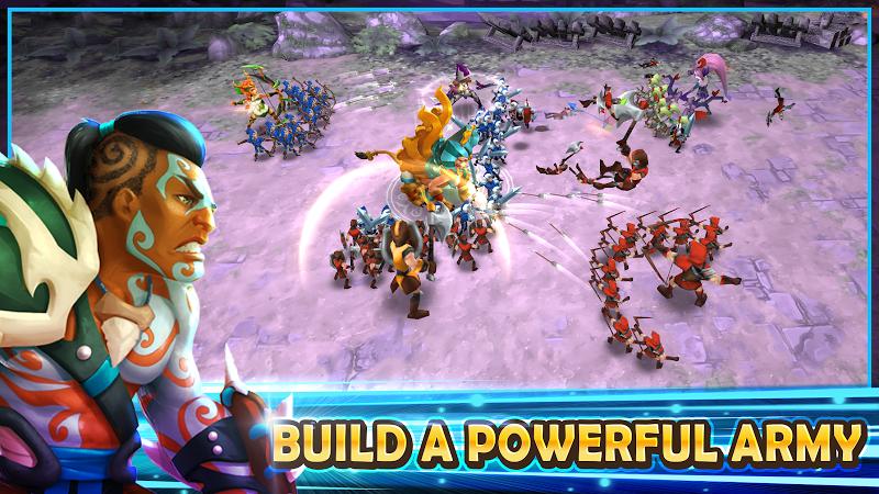 Wartide: Heroes of Atlantis Screenshot 1