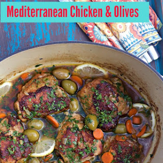 A Cookbook, A Dutch Oven, a Chicken and Olives