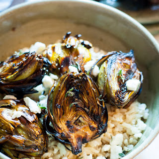 Balsamic Grilled Artichokes.