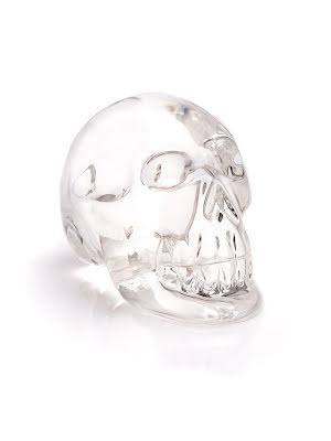 Bergkristall, kristallskalle i AA-kvalitet