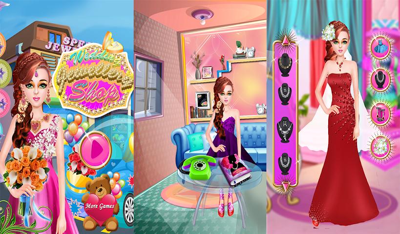 android Hochzeit-Shop Schmuck Spiele Screenshot 9