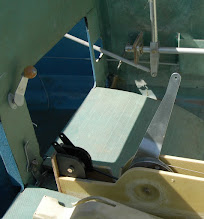Photo: N753CZ Cozy MK-IV Landing Brake Actuator.  Since replaced with Electric Actuator