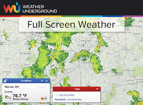 Full Screen Weather