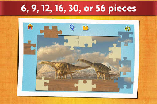 Dinosaurs Jigsaw Puzzles Game - Kids & Adults apktram screenshots 3