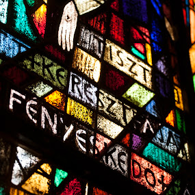 Stained glass by Attila Kropf - Buildings & Architecture Architectural Detail ( stained, church, colors, glass, light,  )