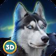 Husky Dog Simulator 3D icon