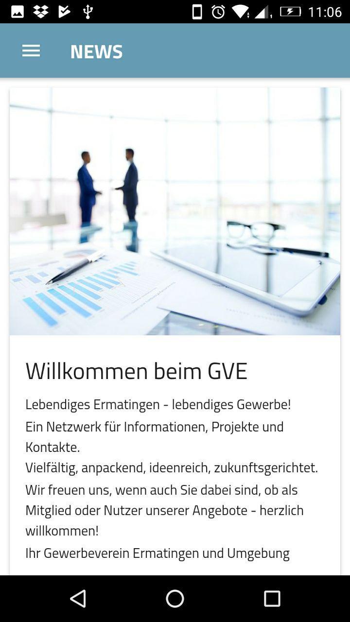 Скриншот Gewerbeverein Ermatingen u. U.