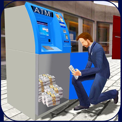 Money Transit in Bank Security Van