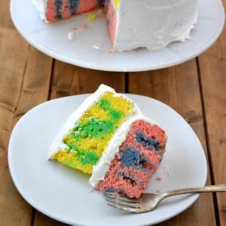 Easter JELLO Poke Cake