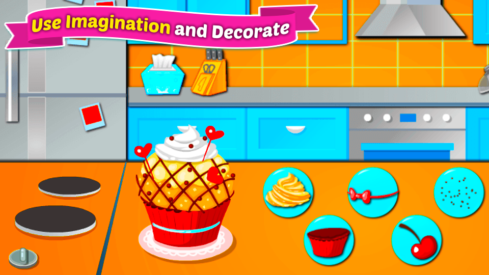 Bake Cupcakes Cooking Decorating Baking Game Android Apps On Google Play