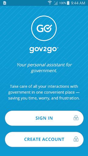 Gov2Go screenshot 1