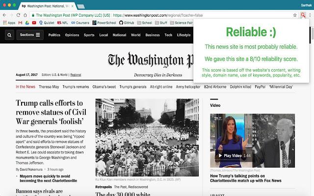Debunker - Detect Fake News