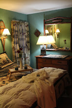 Photo: An Adirondack style bedroom - King bed