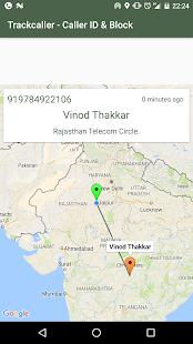 Mobile Number Address Tracker screenshot