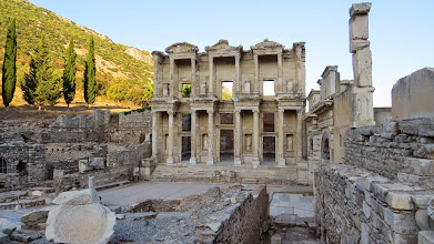 Photo: The famous Library of Celsus. With no one around.