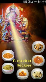 Navratri Prasad Recipes screenshot